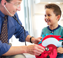 For children with heart conditions, we offer the most advanced care and best physicians.